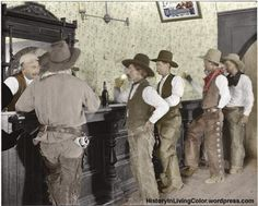 Old West in Color: Colorized Pictures of Cowboys From the Late 19th to Early 20th Centuries
