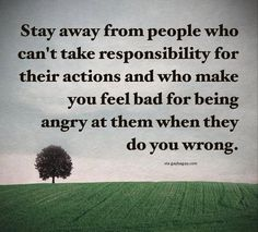 Well Said Quotes About Responsibilities