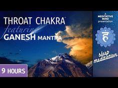 Sleep Chakra Meditation Music | THROAT CHAKRA | GANESH MANTRA Chanting | Deep Sleep Music - YouTube