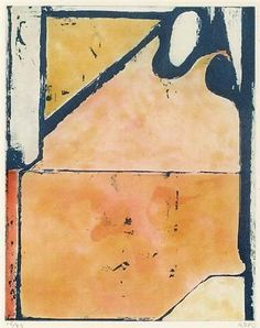 DIEBENKORN Blue Loop, 1980 Aquatint printed in colors 14 7/8 x 11 7/8 inches Edition of 35