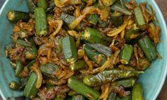 Okra curry: ya tenemos las semillas de okra india germinando en la huerta... curry para este verano!