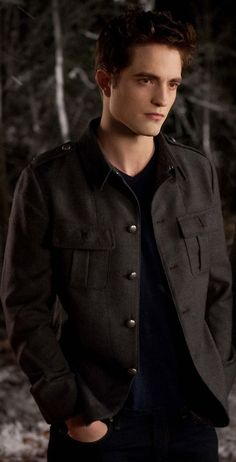 Robert Pattinson.. only think he's hot as Edward in the Twilight movies