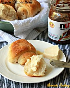 Aromatic Cooking: Eggless Dinner Rolls