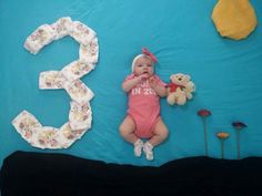 Baby Girl Pictures, Baby Boy Photos, Newborn Pictures, Monthly Baby Photos, Monthly Pictures, Foto Baby, Baby Poses, Baby Album, Baby Blog