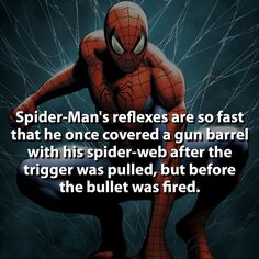Spiderman fact (his awesomeness is overwhelming) Marvel Facts, Marvel Dc Comics, Marvel Heroes, Marvel Avengers, Baby Avengers, Comic Movies, Comic Book Characters, Marvel Characters, Comic Character