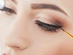How to Apply Eyeshadow Eyeliner in 8 Easy Steps | Whether you prefer to sport simple or winged eyeliner, opt for natural brown and black eyeliner shades, or gravitate toward bolder looks, these tips and beauty hacks will teach you how to transform your favorite shadows into gorgeous eyeliner that lasts all day. We're sharing 8 application tips and tricks, and 4 eyeshadow eyeliner tutorials you'll love. #howtoapplyeyeliner #eyelinerhacks #EyelinerWaterline