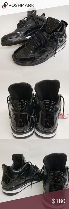 44887e7a50e Men s Air Jordan retro 4 11lab4 in all black 10 Like new mens air Jordan  retro