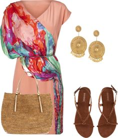 Roman Summer, created by inspirexpress on Polyvore