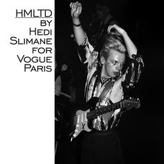 #VogueExclusive With rock'n'roll running through their veins and a punk spirit in their DNA, dandy glam rock group HMLTD sit somewhere between a Bowie on acid and electronic Nirvana. A raw and pioneering energy that Hedi Slimane captured exclusively for Vogue Paris at their concert at Point Éphémère on May 24. @hedislimane @hmltd #HediSlimane #HMLTD