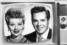 """Lucille Ball and Desi Arnaz played """"Lucy & Ricky Ricardo"""" on the CBS TV show, """"I Love Lucy."""""""