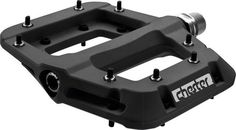 RaceFace Chester Mountain Bike Pedal Fully serviceable bearing & bushing system 8 hex traction pins per side Lightweight nylon composite body Fully sealed cro-mo axle Large platform with same grip as traditional alloy pedals Mountain Bike Pedals, Bicycle Pedals, Bicycle Parts, Mountain Biking, Bmx Bicycle, Lowrider Bicycle, Bicycle Shop, Bicycle Wheel, Bici Fixed