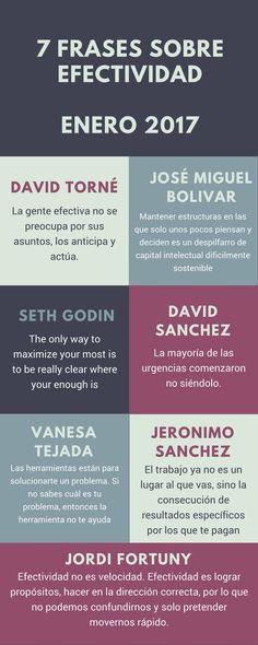 """""""Mi selección de 7 frases sobre #efectividad del mes de enero"""""""