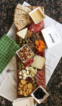 Cheese Board for Summer Tapas Grazing | Take Two Tapas #wineandcheese