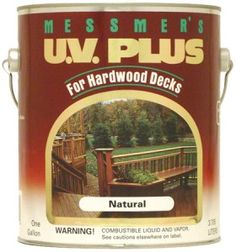 Messmer's UV Plus for Hardwood Decks Stain Can