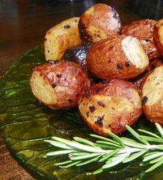 Roasted Red Potatoes with Rosemary (or Dill)