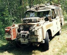 Series II 1958 Something Else! #LandRover