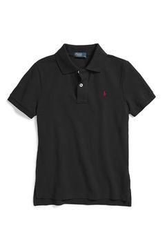 Ralph Lauren Cotton Mesh Polo (Big Boys) available at  Nordstrom 1abb3fcccc2