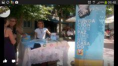 FMPJC estuvo ayer presente con una mesa en la que se podía adquirir nuestro merchandising.