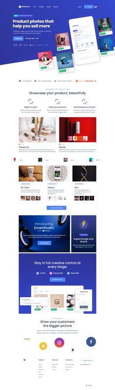 Feedsauce landing page design inspiration - Lapa Ninja Landing Page Examples, App Landing Page, Landing Page Design, Landing Page Inspiration, Website Design Inspiration, Design Your Own Website, Native Design, Graphic Design Studios, Best Sites