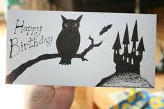 Hand drawn card - by Emily Hunter-Higgins