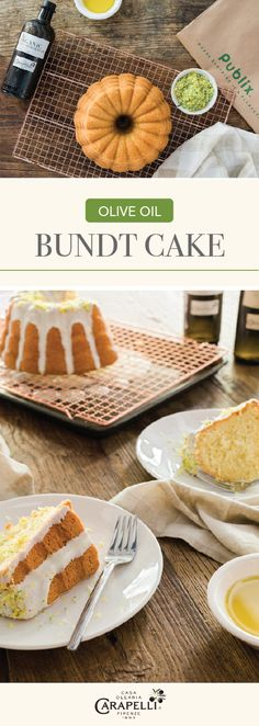 Bring the tradition of Italy into your kitchen by making this recipe for Olive Oil Bundt Cake for your next celebration. With Carapelli® Organic Extra Virgin Olive Oil baked into the batter and a fresh citrus glaze decorating the top, it's not hard to see that this homemade dessert is made for special occasions all year long. And don't forget to pick up all the ingredients you need to make this sweet treat at Publix!