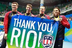 No Rio, cinco ouros e uma prata para encerrar a carreira de forma contundente e vitoriosa.