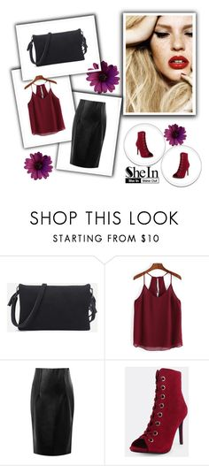 """SheIn 9/VI"" by hedija-okanovic ❤ liked on Polyvore featuring shein"