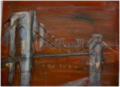 Original oil painting by New York artist, Navahjo Stoller