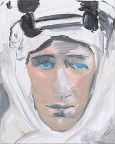 'Lawrence of Arabia' - 2011 - by Marlene Dumas (South African, b. 1953)