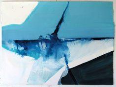 Ana Sério Fusão em Azul 117/06 2012 Oil x Paper 71 cm x 94 cm #AnaSério #Artist #Art #Oil #Painting #Color #Portugal #Gallery #SaoMamede #Artwork