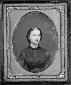 Daguerrotype of Augusta Currie Bradhurst Field at the age of 16 by Rufus Anson, 1862