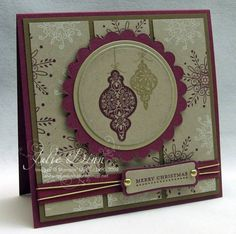 Tree Trimmings by stampinjewelsd - Cards and Paper Crafts at Splitcoaststampers