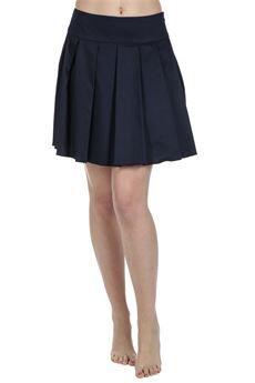 #Dondup Gonna Alak #moda #fashion Colore: blu profondo #bforeshop #donna #woman #SS2015 #skirt