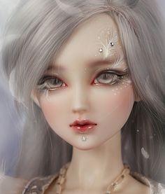 Dolls to Wish For Wool Dolls, Felt Dolls, Blythe Dolls, Doll Toys, Pretty Dolls, Beautiful Dolls, Big Eyes Artist, Gothic Dolls, Ethereal Beauty