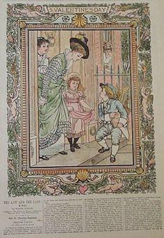 Everybodys magazine september c1902 john wanamaker publisher harpers weekly c1875 illustration of a winged cupid dressed as a valentines greetingsrhode islandgilded agecupidnewportgreeting m4hsunfo
