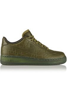 Nike Air Force 1 London leather sneakers | NET-A-PORTER