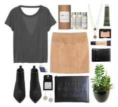 """F#CK what you heard"" by sophiehackett ❤ liked on Polyvore featuring Très Pure, Monki, Alöe, Violeta by Mango, Acne Studios, Topshop, Charbonize, Bee Charming, Giorgio Armani and NARS Cosmetics"