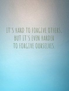 We're hard on ourselves. What if you could forgive yourself and feel free? Email me because I've got some offers. MCWSTRESSMANAGEMENT@GMAIL.COM #forgiveness #selfmotivation #lawofattraction #selflove #loveyourself #productivity #lettinggo #acceptancequotes