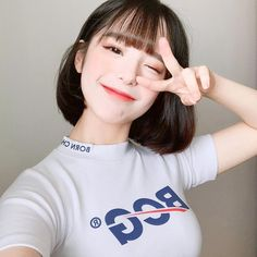 Cute Japanese Girl, Cute Korean Girl, Filipina Beauty, Shot Hair Styles, Luscious Hair, Uzzlang Girl, Model Face, Grunge Girl, Beautiful Girl Image
