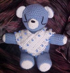 Pamela Bear Amigurumi Free Pattern