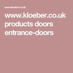 We offer a wide range of bespoke aluminium & wooden front & entrance doors! Highly secure & collection of funky designs available. Visit a UK showroom Contemporary Front Doors, Aluminium Windows, Funky Design, Entrance Doors, House Styles, Gallery, Products, Dreams, Front Doors