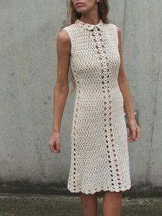 Retro crochet dress 1 | por ileaiye8