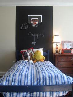 Chalkboard Headboard Ideas-36-1 Kindesign