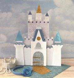 Moldes para hacer castillos de juguete con los niños en estas vacaciones…
