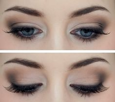 Simple eyeshadow for any day.
