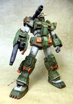 MG 1/100 FA-78-1 Full Armor Gundam - Customized Build