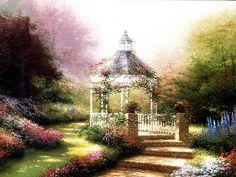Beyond the Garden Gate 19  Thomas Kinkaid