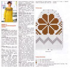Ethnic Patterns, Knitting Charts, Free Crochet, Free Pattern, Tutorials, Top, Tejidos, Diagram, Tricot