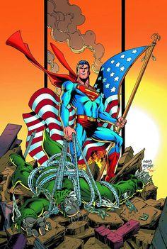 #Superman #Fan #Art. (Superman Unchained Vol.1 #1 Variant Cover By: Dan Jurgens. ÅWESOMENESS!!!™ ÅÅÅ+