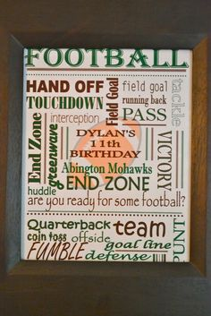 Live Smile Celebrate: Are You Ready For Some Football?